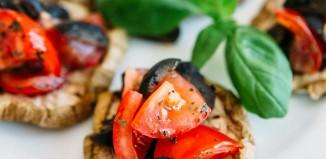 Kruščići (bruschette) od patlidžana