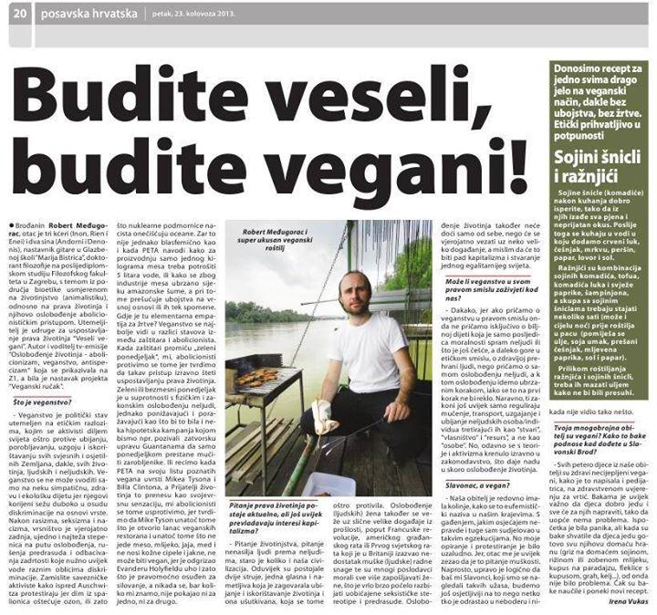 Budite veseli, budite vegani