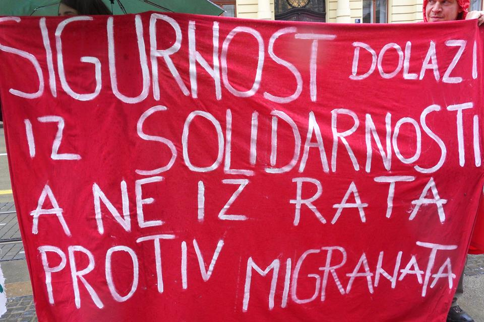 Sigurnost dolazi iz solidarnosti, a ne iz rata protiv migranata