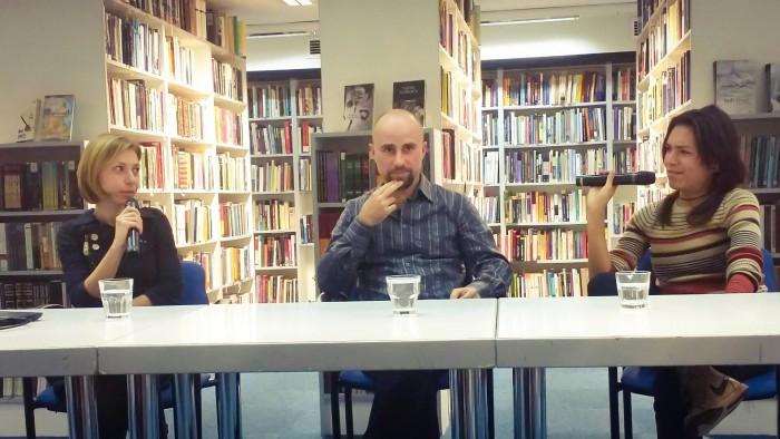 S lijeva na desno: Dubravka Novotni, Robert Međugorac i Marina Zrnić / Svjetlozapisao: Mladen Ergić