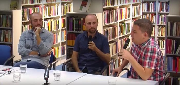 S lijeva na desno: Anton Glasnović, Robert Međugorac, Marko Tomičević