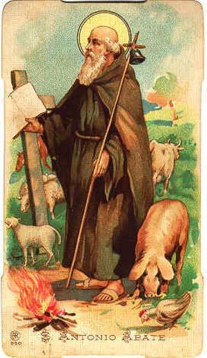 Sveti Antun Pustinjak ili sv. Antun opat.