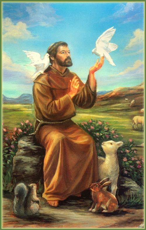 """""""Naša prva dužnost je prema našoj braći životinjama da ih ne povrjeđujemo, niti ponižavamo, ali na tome se nije dovoljno zaustaviti, jer imamo uzvišeniju misiju prema njima, a to je da im budemo na usluzi kada god oni to trebaju."""" - Sveti Franjo Asiški"""