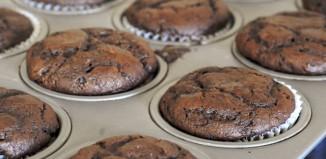 Veganski čokoladni kolač (Muffin)