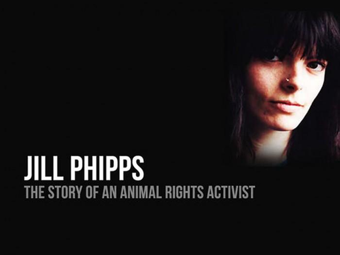 U sjećanje na Jill Phipps (15. 1. 1964. - 1. 2. 1995.) - heroinu koja je dala život za oslobođenje životinja