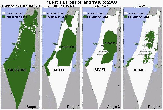 Sustavno i kontinuirano otimanje zemlje Palestincima