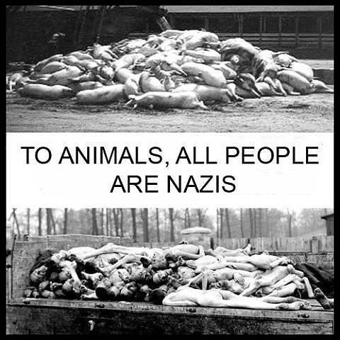 """""""U svom odnosu prema životinjama, svi ljudi su nacisti; za životinje traje vječna Treblinka."""" - Isaac Bashevis Singer"""