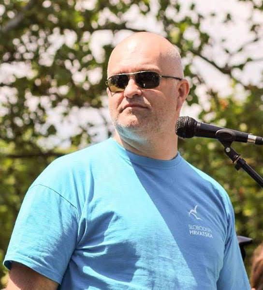 Damir-Kristijan Rogina, organizator marša protiv Monsanta i supredsjednik Slobodne Hrvatske
