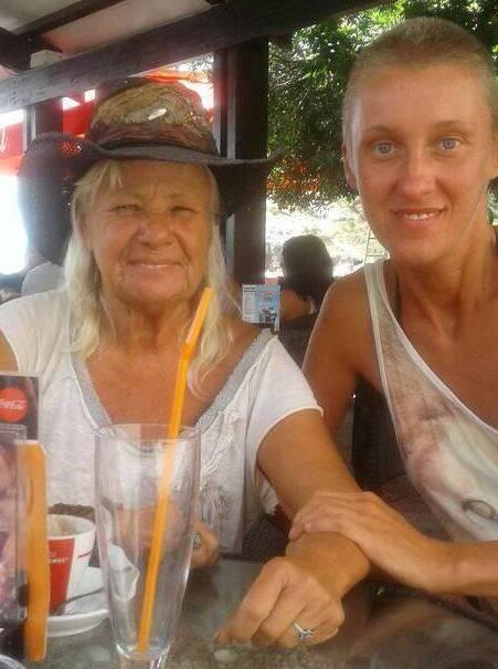 Dragica Čedić i Lara Rebić