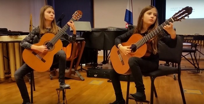 Duo gitara: Inon i Rien Međugorac / 54. državno natjecanje HDGPP