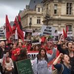 Šetnja za zatvaranje svih klaonica u Parizu 2016.