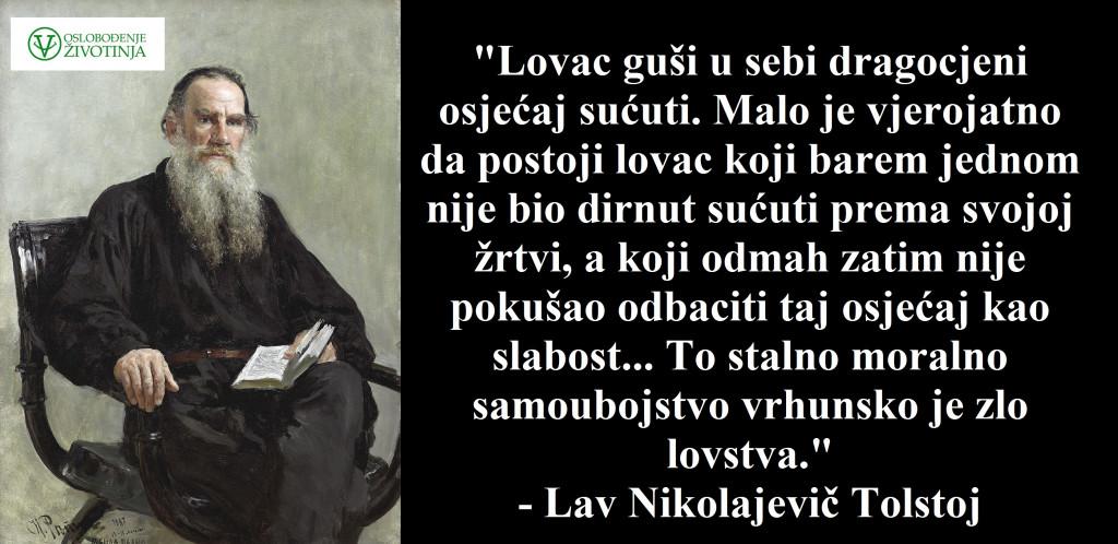 Lav Nikolajevič Tolstoj o lovu