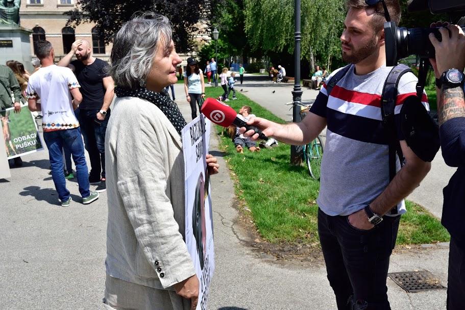 Mislav Skrepnik, Sanda Hržić